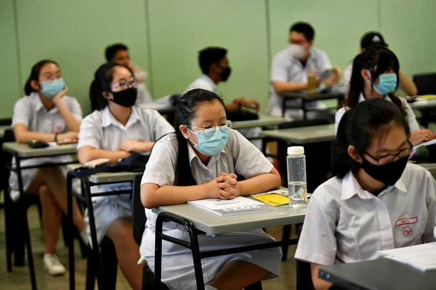 The Singapore Examinations and Assessment Board will monitor the situation and provide updates to exam arrangements.