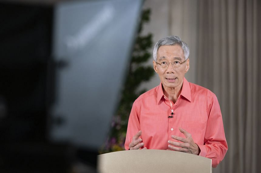 Prime Minister Lee Hsien Loong announced his address in a Facebook post on Sunday (May 30).