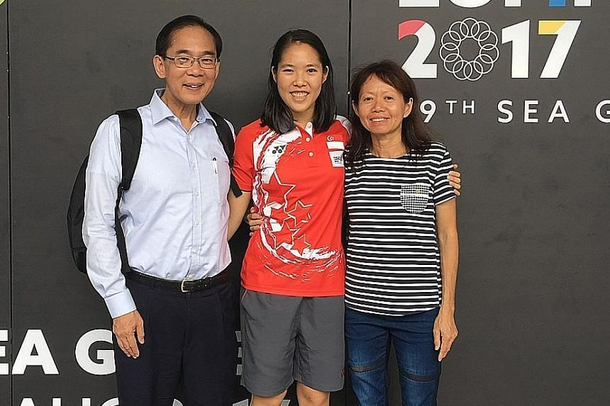 David Chua and Teo Ee Sin supported their daughter Grace, a national badminton player, when she wanted to pursue the sport full time before going to university.