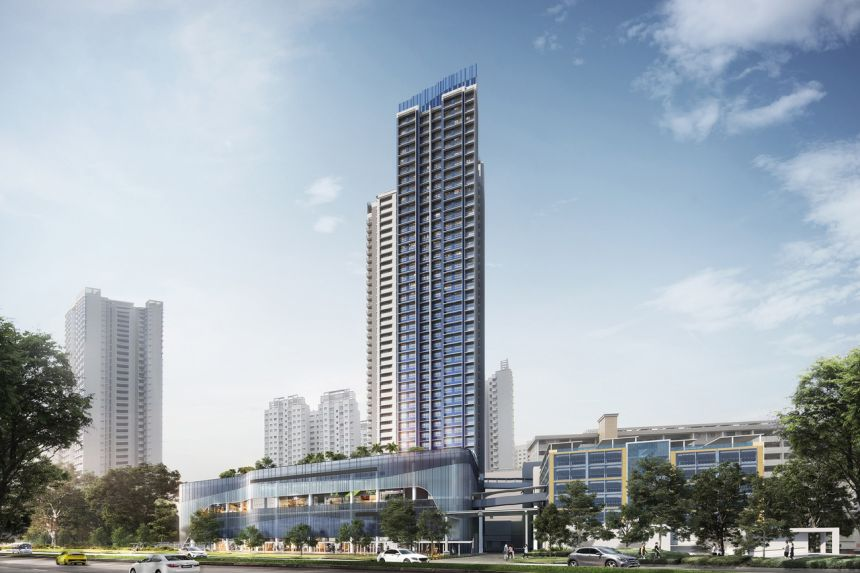 Only 70 four-room flats are on offer at the Telok Blangah Beacon project in the mature estate of Bukit Merah.