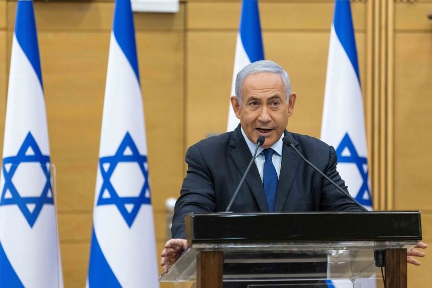 Israeli prime minister Benjamin Netanyahu appears to be on his way out.
