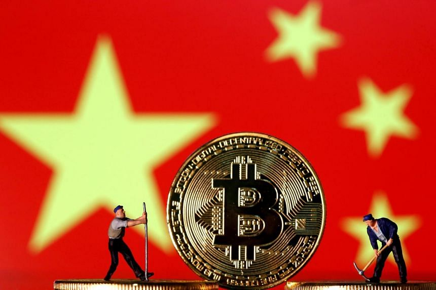 China escalated its crackdown after a frenzied surge in Bitcoin and other tokens over the past six months.