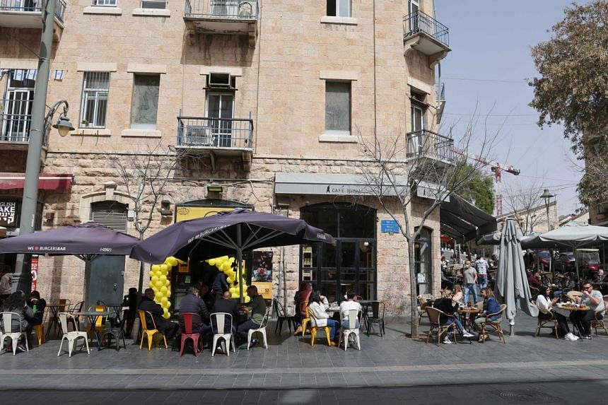 In Israel, people are no longer required to show vaccination certificates to enter restaurants and entertainment venues.