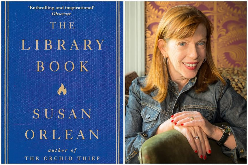 Susan Orlean's The Library Book is a riveting account of the most devastating library fire in American history.