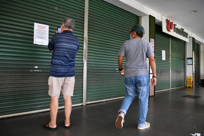 The Hua Zai outlet in NTUC Foodfare at 308 Anchorvale Road has been closed since May 30, 2021.