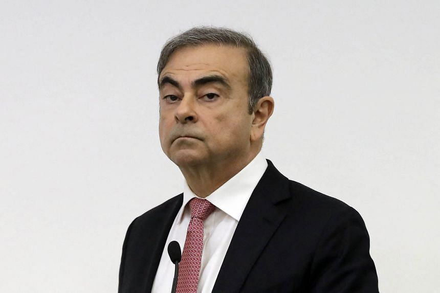 Carlos Ghosn faces potential charges in France but fears that leaving Lebanon could land him back in Japan.
