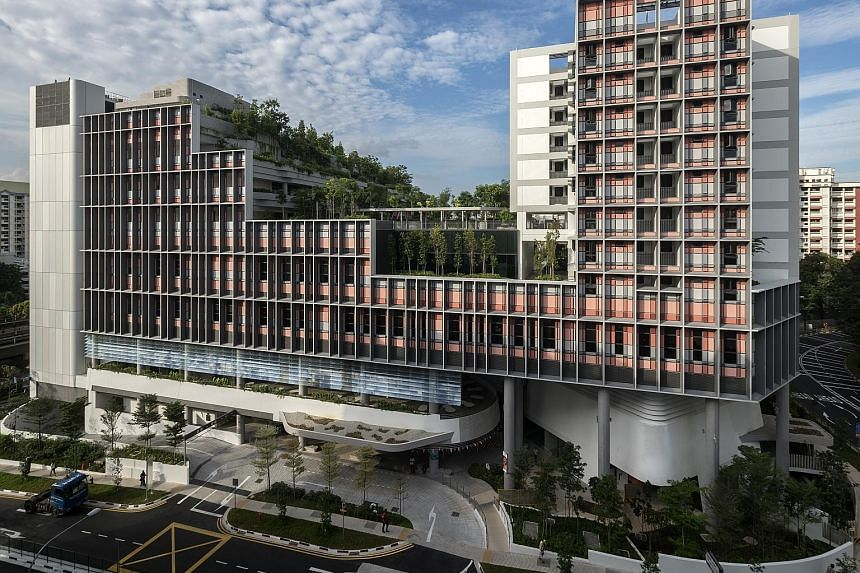 Kampung Admiralty (left) and Punggol town were hailed for their good planning, design and sustainable development, as well as for bringing the community together. The two projects, along with Lakeside Garden in Jurong Lake Gardens and Paya Lebar Quar