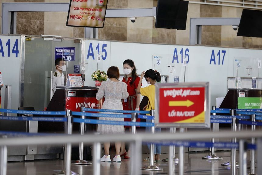 A similar decision was in force for the airport in commercial capital Ho Chi Minh City until June 14.