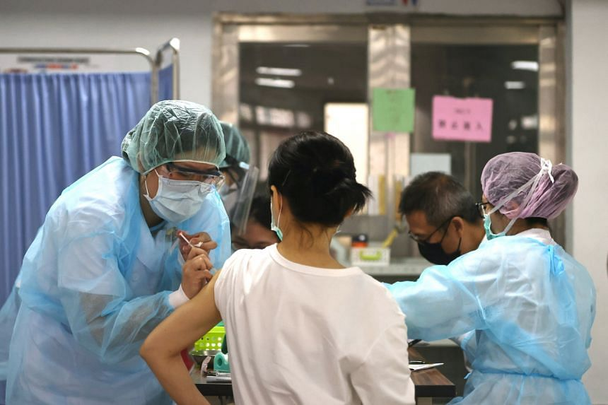 Taiwan has vaccinated just about 3 per cent of its 23.5 million people.