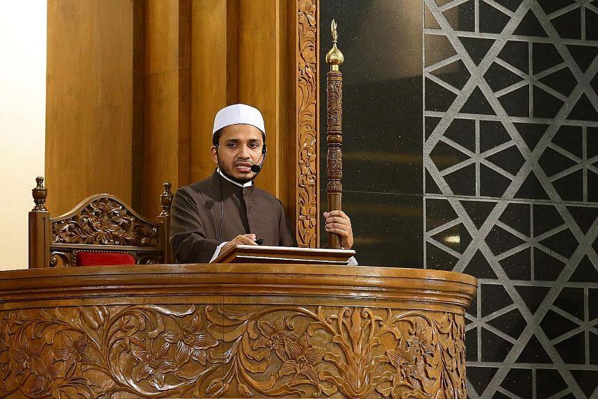 Mufti Nazirudin Mohd Nasir.