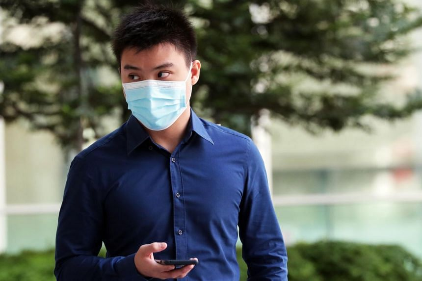 Kelmen Wong Yew Hui is back behind bars for committing similar offences last year.