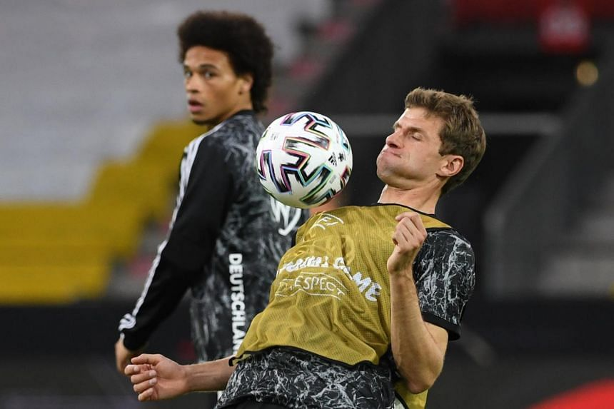 Lothar Matthaus believes that to succeed, the team's attackers like Thomas Muller (pictured) need to get involved inside the penalty box.