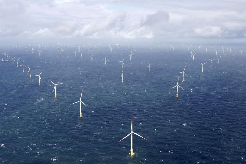 Germany's installed capacity of onshore wind power stood at 54.4GW and of solar energy at 52GW in 2020.