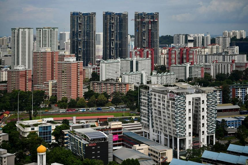 A total of 1,966 resale flats were sold in May, a 16 per cent fall from April.