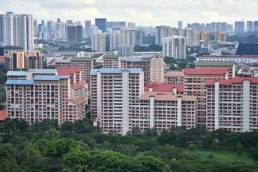 In Asia, Singapore charted the biggest property price gain at 6.1 per cent.
