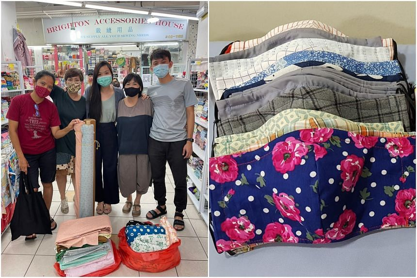 Project Wellness sprung into action in February last year and distributed more than 20,000 fabric masks when demand soared.