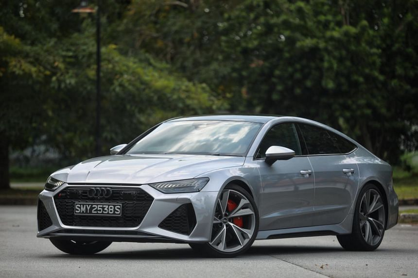 The Audi RS7 Sportback is the largest saloon to wear the hallowed RS badge.