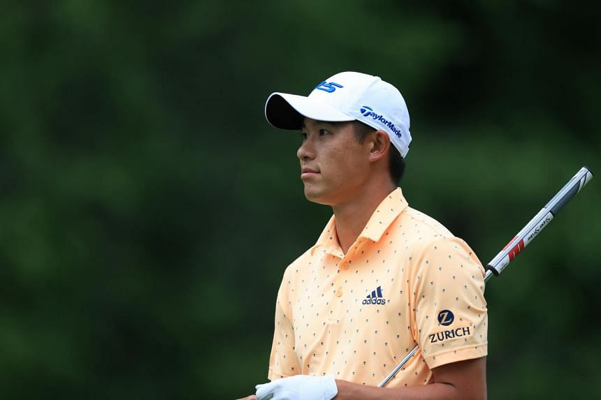 Collin Morikawa fired seven birdies against a lone bogey to grab a one-stroke lead at the PGA Tour's Memorial tournament on June 3, 2021.