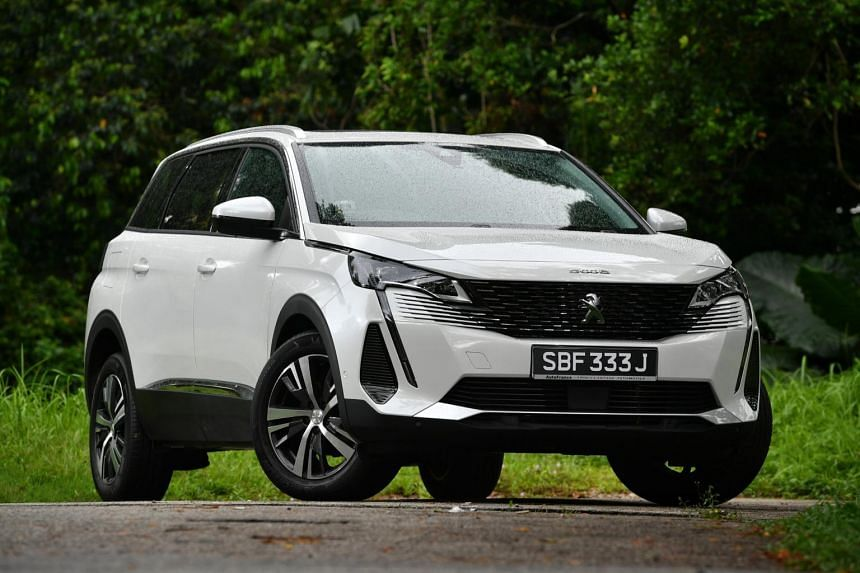 The Peugeot 5008 has undergone a facelift and is arguably the best-looking contender in its class.