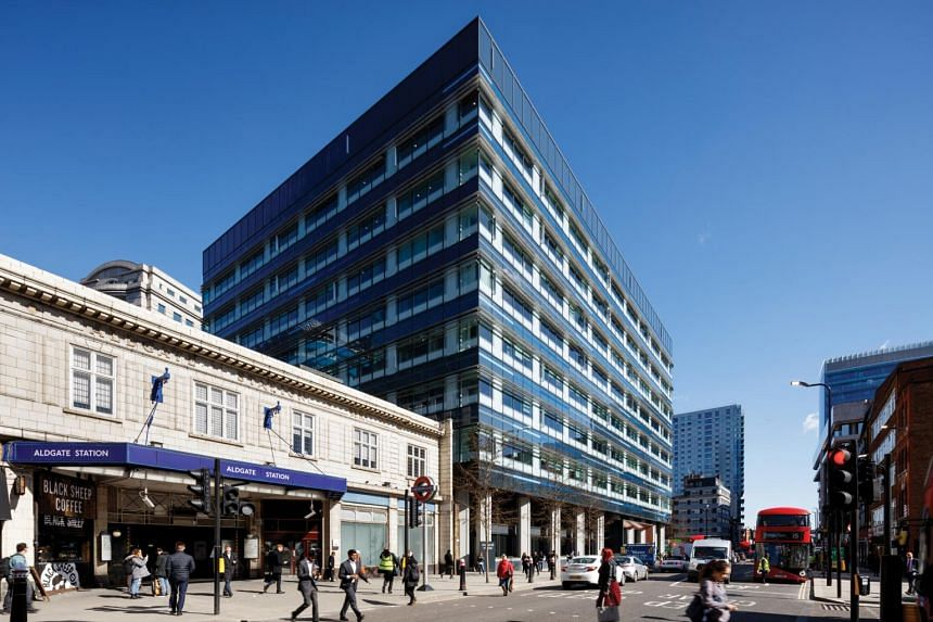 CDL has two predominantly office properties in London that could be injected into the UK Reit: 125 Old Broad Street and Aldgate House (above).