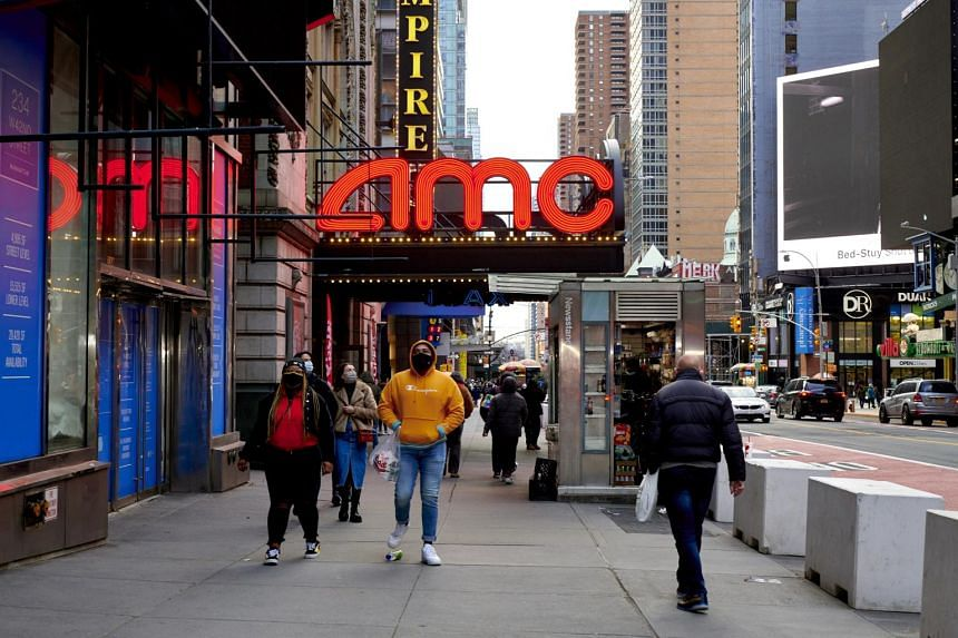 The theatre chain was staring at potential bankruptcy only a few months ago in the face of the pandemic and brutal competition from streaming services.