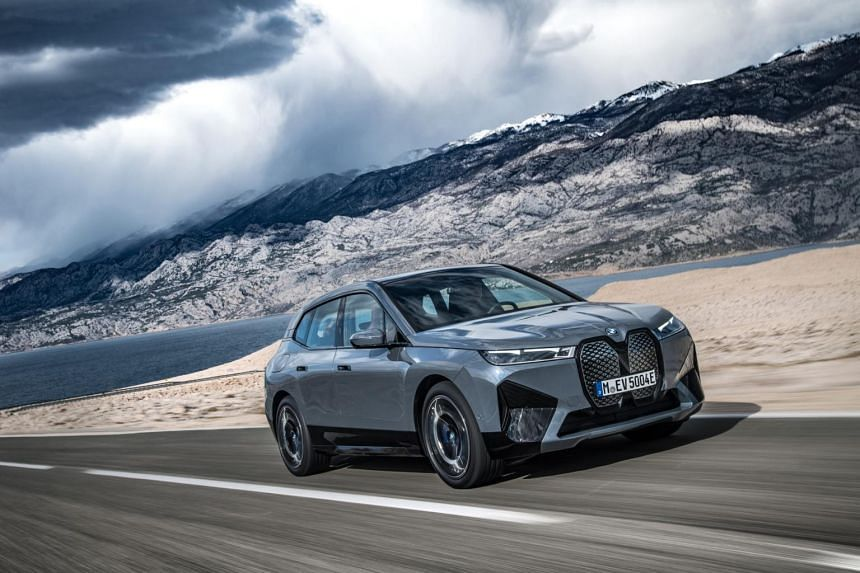 The BMW iX is slated to arrive here before the end of the year.