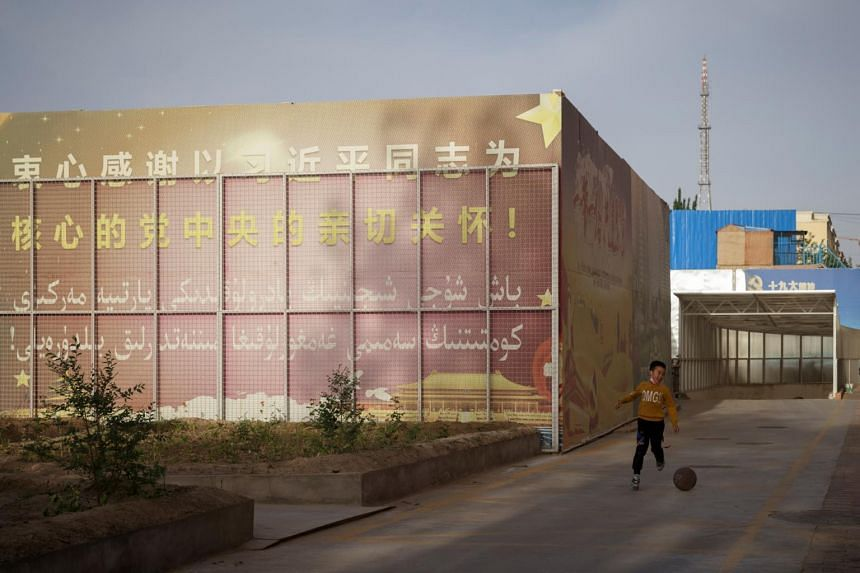 Rights groups say up to one million Uighurs and people from other ethnic-Turkic minorities are detained in internment camps in Xinjiang.