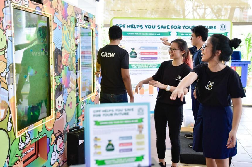 """The CPF Board's programmes for students take a """"game on"""" approach aimed at making the learning fun."""