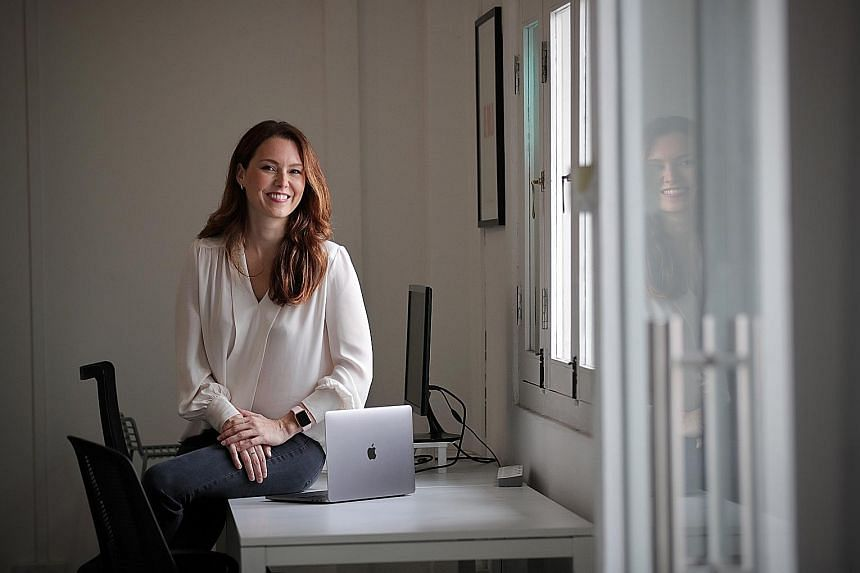 """Ms Nicki Ramsay, founder and chief executive of payments platform CardUp, views money as a tool that gives one the option of spending time however one wishes. """"For me, this has often meant spending time on something that's important to me or experien"""