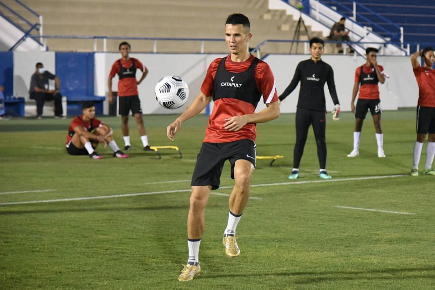 """Baihakki Khaizan urged his teammates to be """"mentally stronger"""" to avoid a repeat of the lacklustre showing in the previous match."""