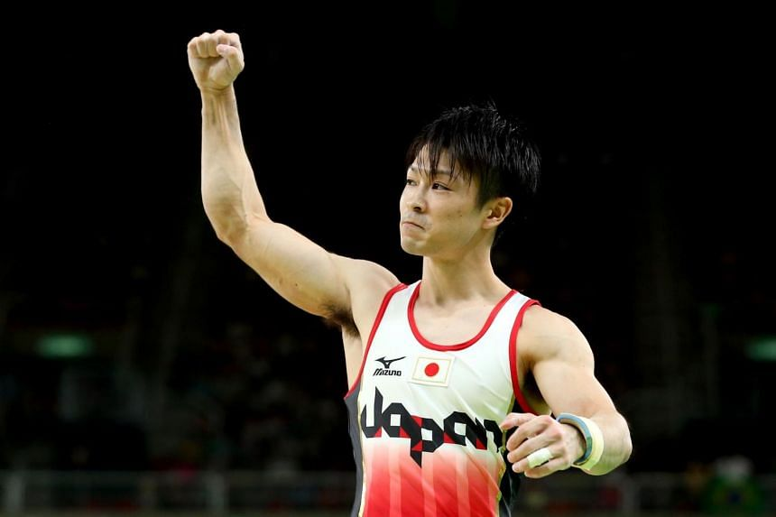 Kohei Uchimura had to work hard to earn his place after a marathon qualifying process went right down to the wire.