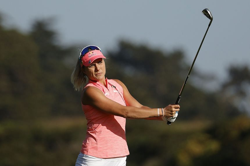 Lexi Thompson carded her lowest round at the Major in 15 appearances.