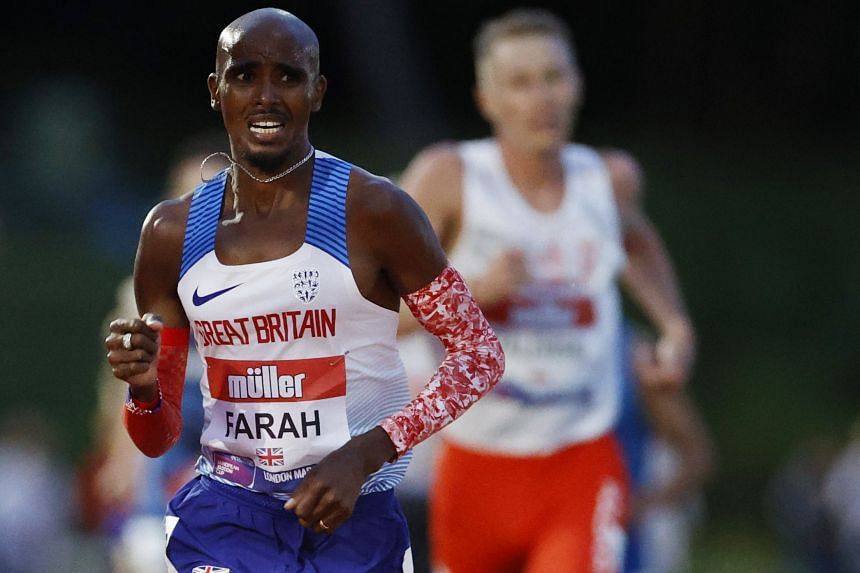Mo Farah's time was 22 seconds short of the required standard to qualify for the Games.