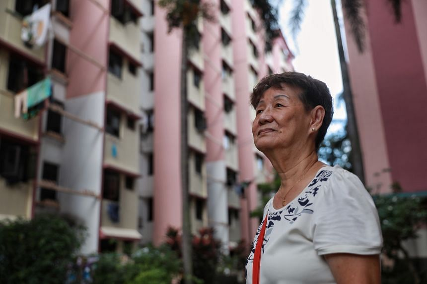 76-year-old Madam Soh Kim Tee was 16 when she moved into the estate with her family.