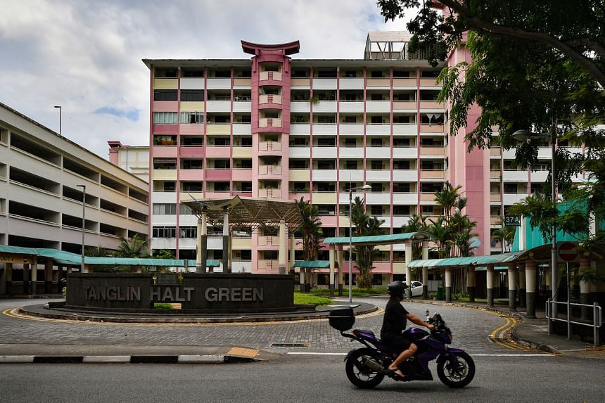 Residents of 3,480 flats in 31 blocks in the estate will soon have to move under the Housing Board's Sers project.