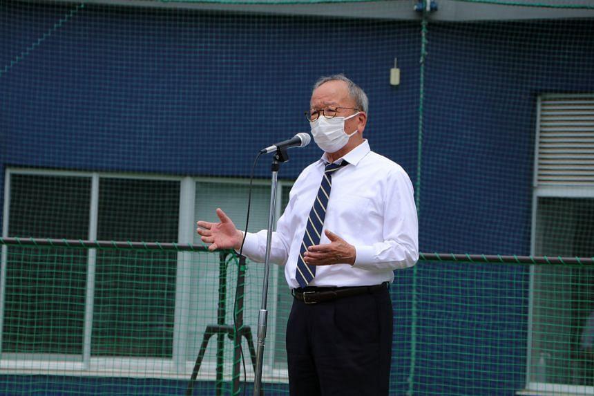 Ota city mayor Masayoshi Shimizu predicted Australia would finish runners-up to Japan.