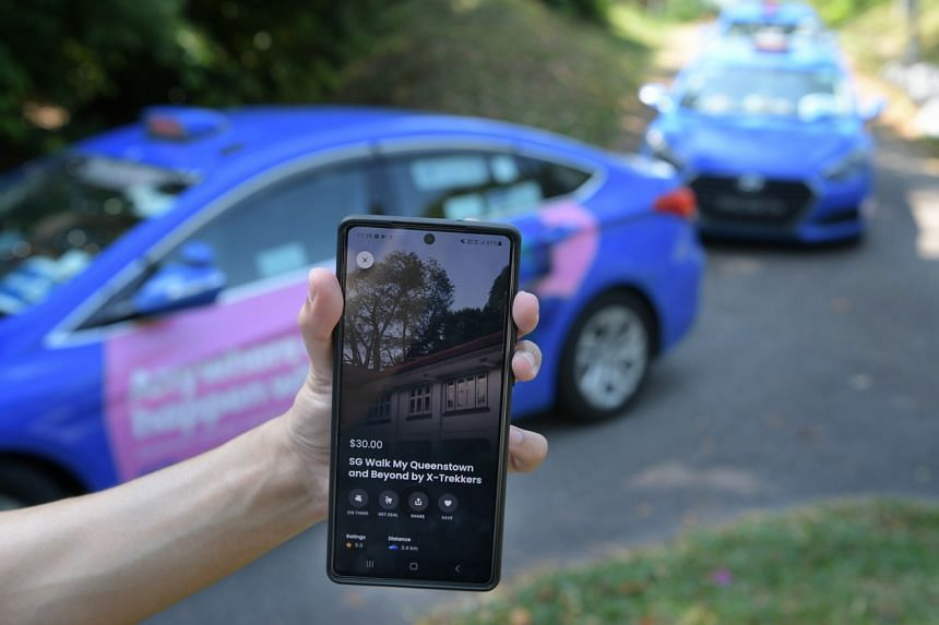 The new app will also offer options that are currently available on ComfortDelGro's Zig app, such as restaurant bookings.