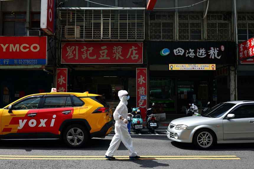 Taiwan has been dealing with a spike in domestic infections and is in the second-highest alert level.