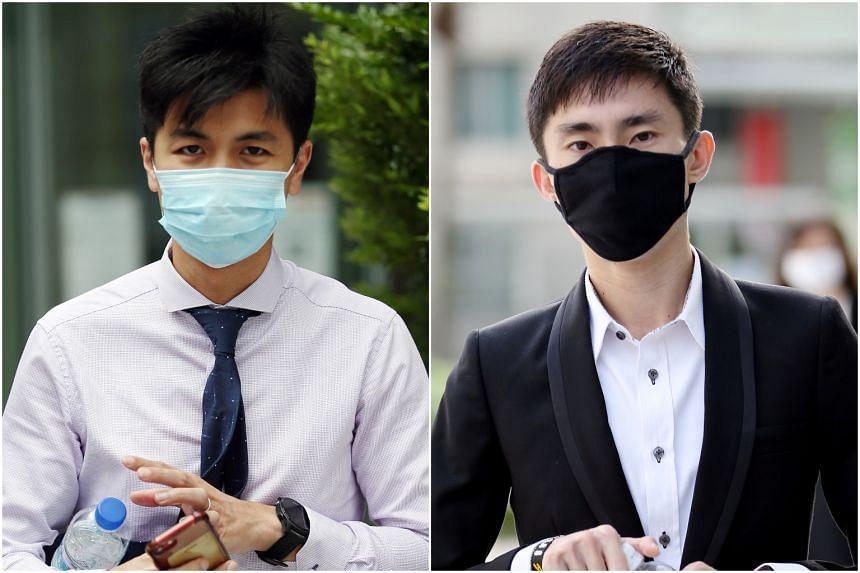 The dispute between Ashley Liew (left) and Soh Rui Yong began in October 2018.
