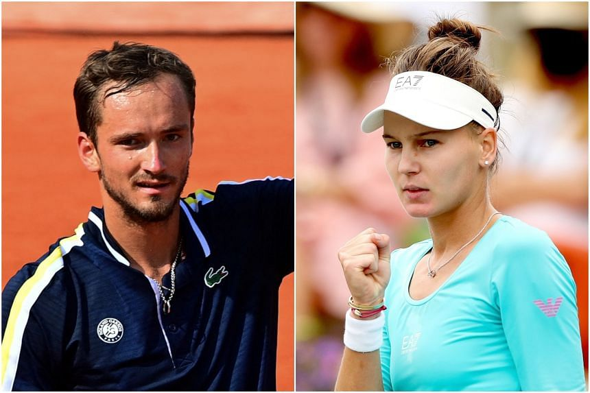 Russia's Daniil Medvedev and Veronika Kudermetova will be leading the country's tennis players at the Tokyo Games.