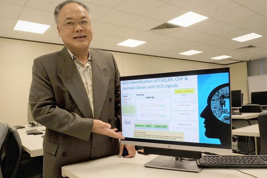 Associate Professor Eddie Ng Yin Kwee said that the diagnostic tool could lead to advancements in merging AI with medical solutions.
