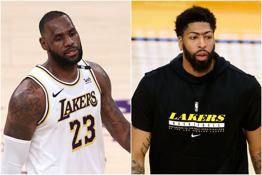 LeBron James (left) and Anthony Davis made their decisions due to their injury-plagued seasons.