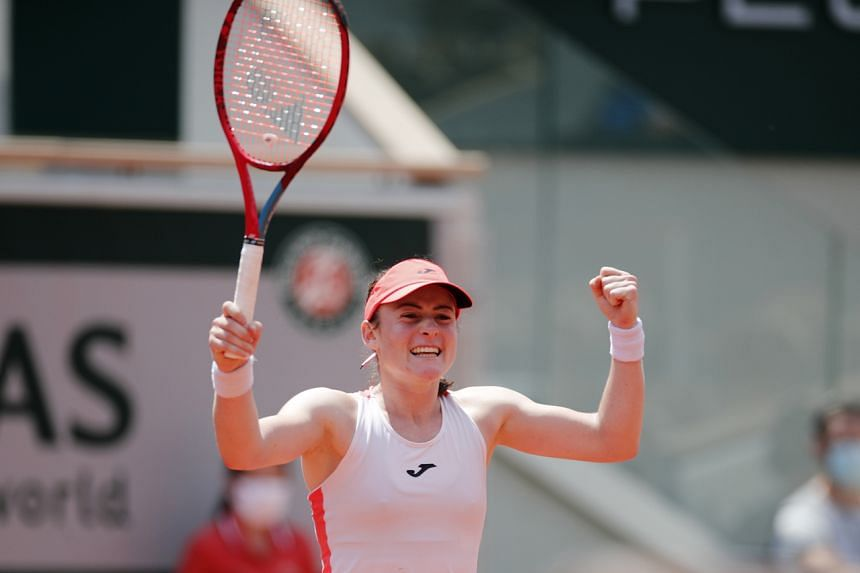 Tamara Zidansek had never gone beyond the second round of a major before this year's Roland Garros.