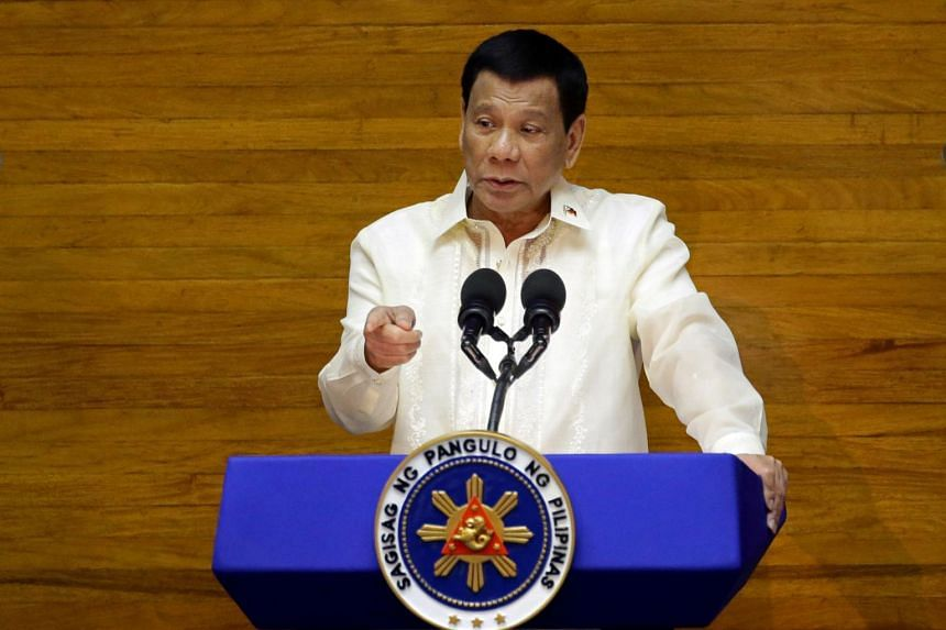 President Rodrigo Duterte did not specify what those stricter measures might be.