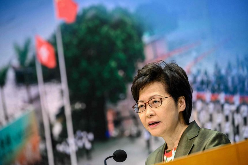 The universities in Hong Kong were reminded by the city's leader of their duties.