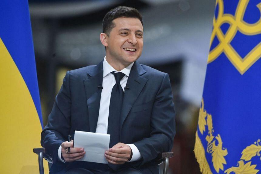 Mr Volodymyr Zelensky accepted the invitation.