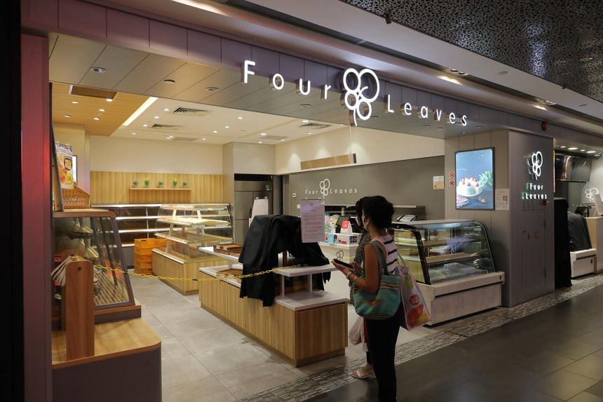 The Four Leaves outlet in Ion Orchard on June 9, 2021.