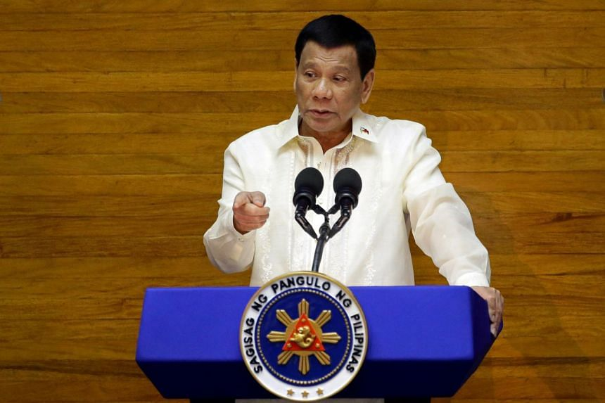 President Duterte who was elected in June 2016 is set to pass the baton as his term ends next year.