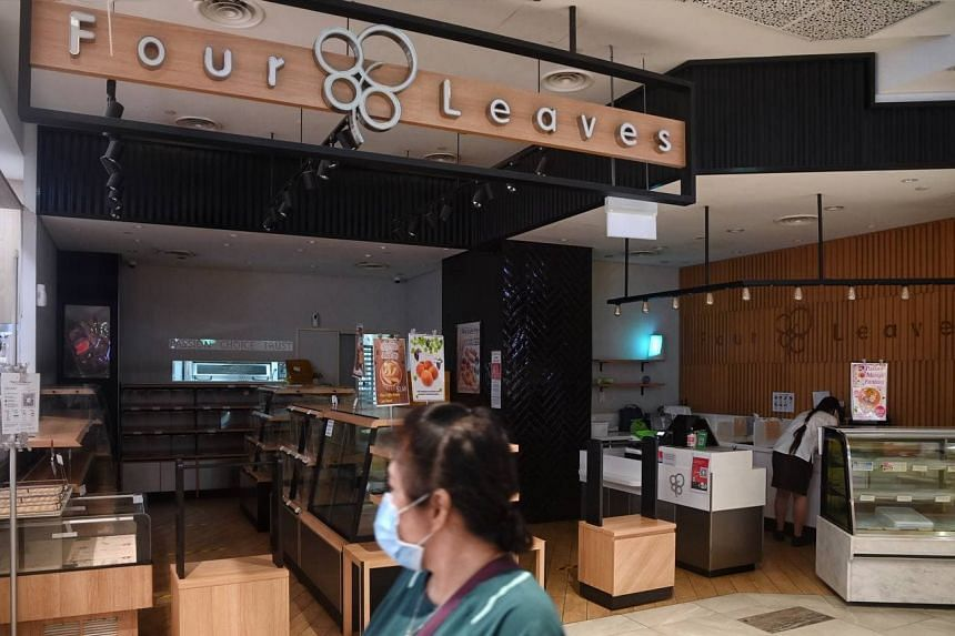 One of the unlinked cases is a 35-year-old retail assistant at a Four Leaves outlet in Ion Orchard and AMK Hub (pictured).