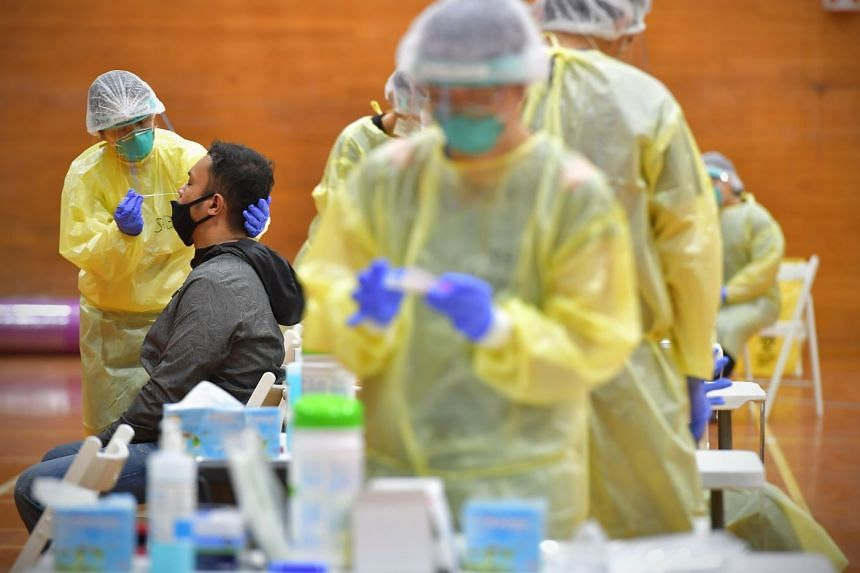 Caregivers say loved ones have been left traumatised by the testing process for coronavirus.
